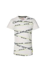 Quapi Quapi jongens t-shirt Feller White
