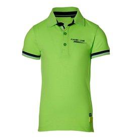Quapi Quapi jongens polo t-shirt Filip Neon Green