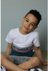 Quapi Quapi jongens t-shirt Fabrice White