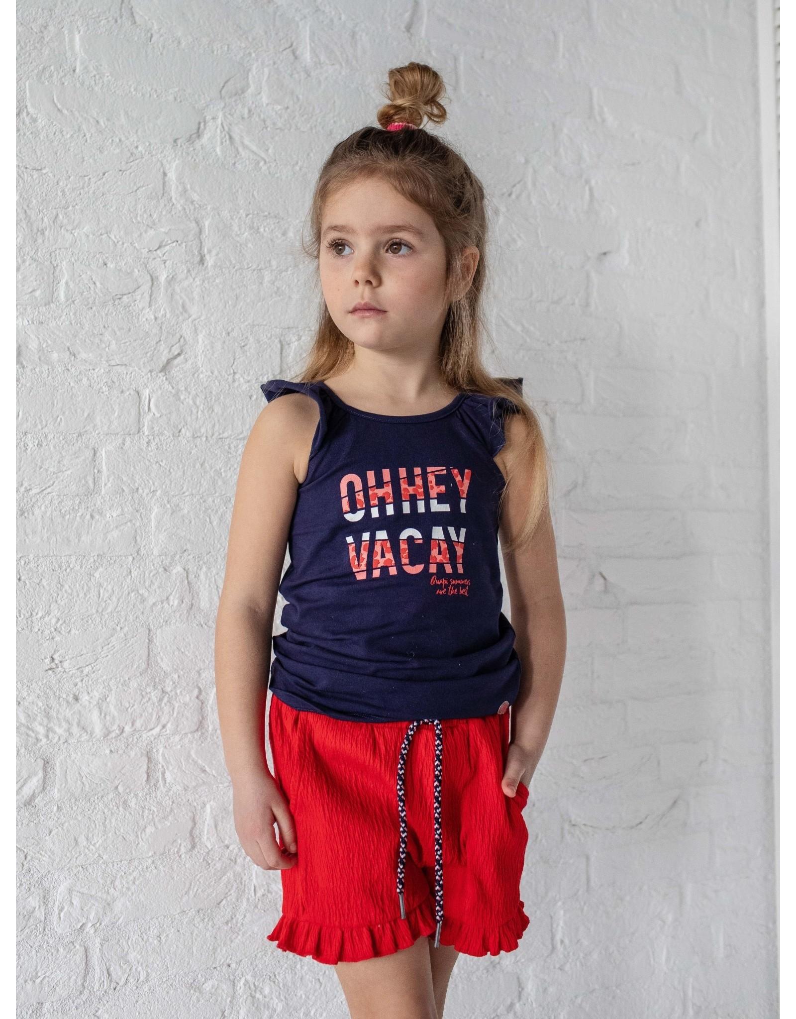 Quapi Quapi meisjes korte broek Fimke Fiery Red