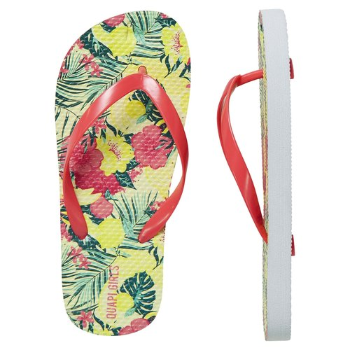 Quapi Quapi meisjes slippers Flox Multi Color Flower