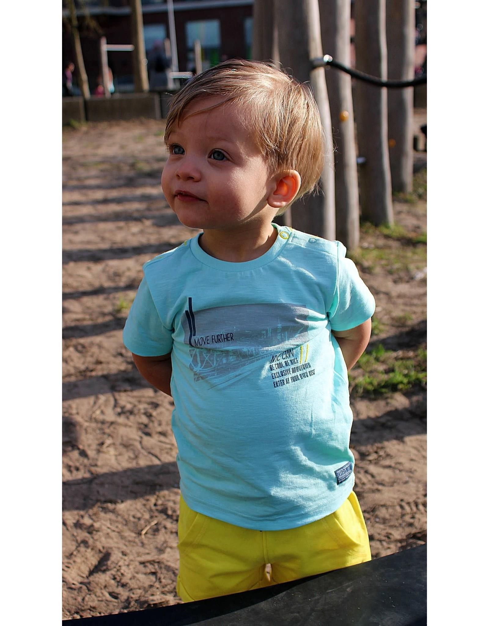 Quapi Quapi baby jongens t-shirt Gerar Fresh Blue