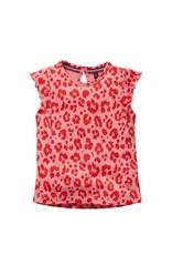 Quapi Quapi baby meisjes t-shirt Gerdy Shell Pink Leopard