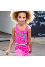 Quapi meisjes mouwloze jurk Aliza Hot Pink