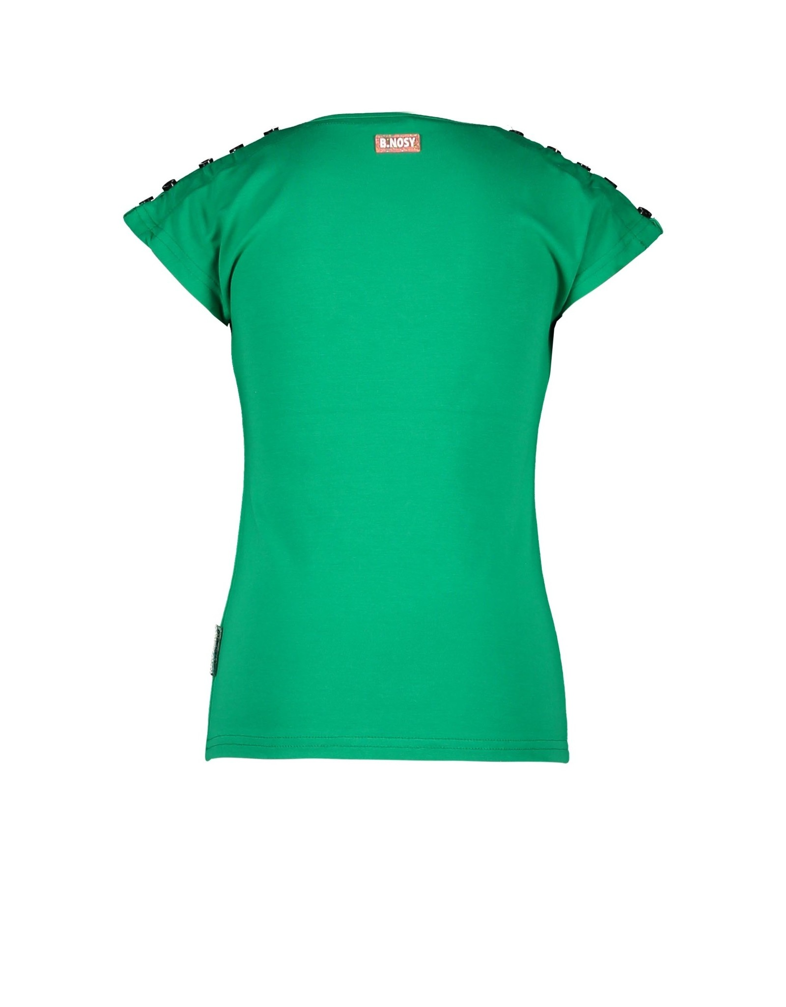 B.Nosy B.Nosy meisjes t-shirt Lovely Golf Green