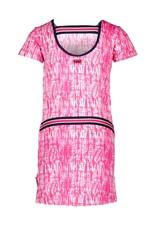 B.Nosy B.Nosy meisjes jurk Beetroot Tie Dye
