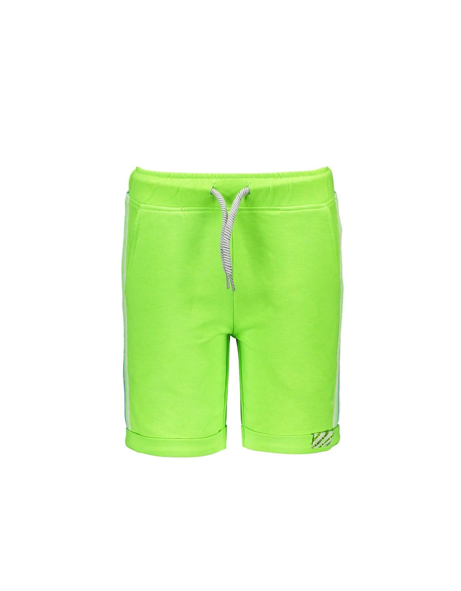 B.Nosy B.Nosy jongens korte joggingbroek met bies Gecko Green