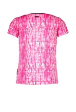 B.Nosy B.Nosy meisjes t-shirt Beetroot Tie Dye
