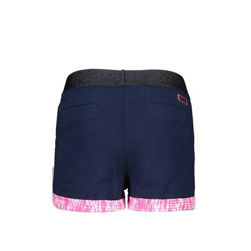 B.Nosy B.Nosy meisjes korte joggingbroek met bies Space Blue