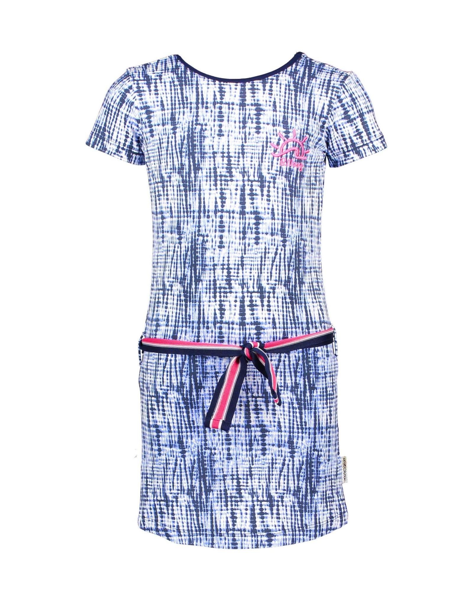 B.Nosy B.Nosy meisjes jurk Space Tie Dye