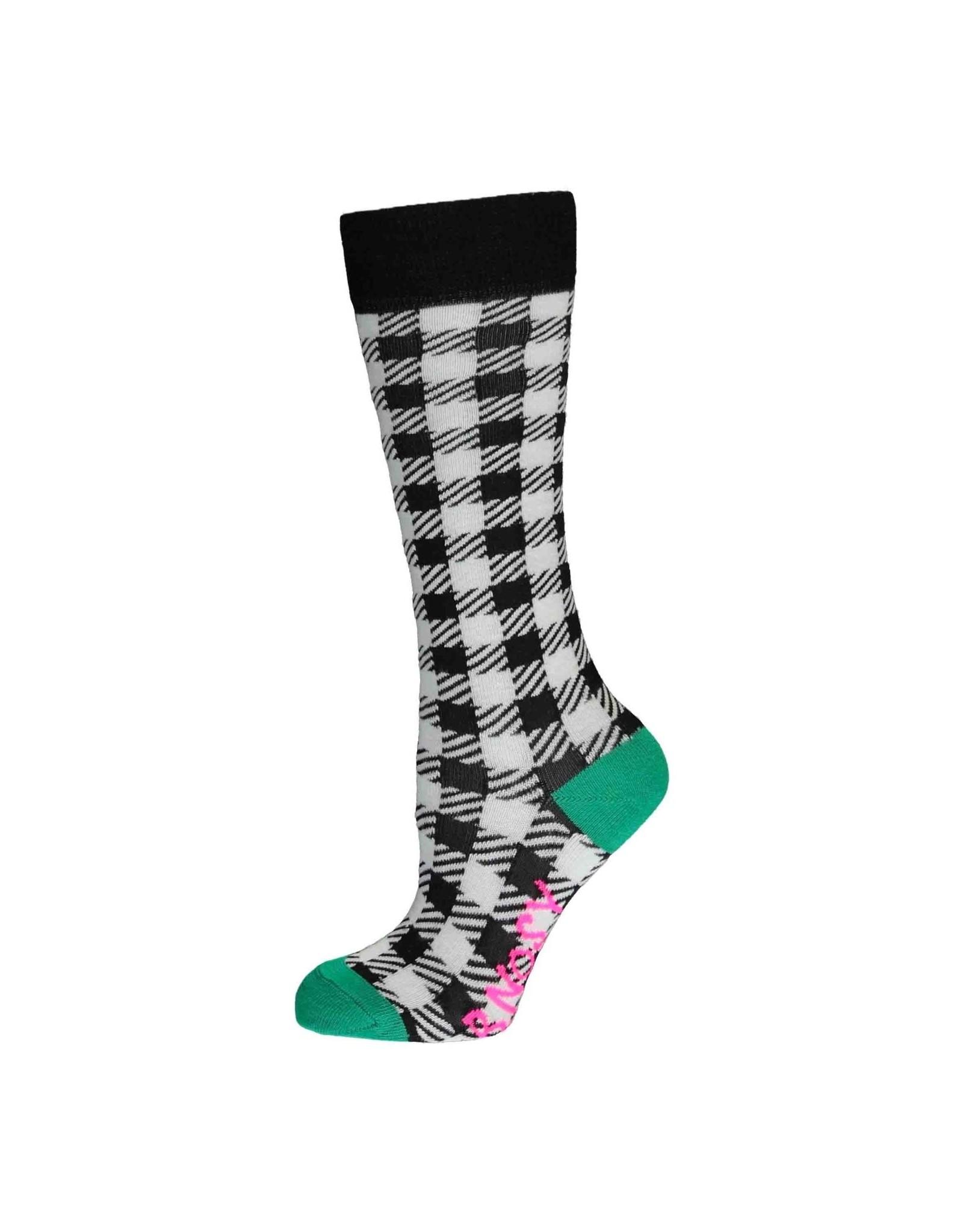 B.Nosy B.Nosy meisjes sokken Sunny Black White AO