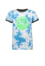 B.Nosy B.Nosy jongens t-shirt Endless Tie Dye Surf Blue