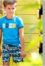 B.Nosy B.Nosy jongens t-shirt Surfclub Surf Blue