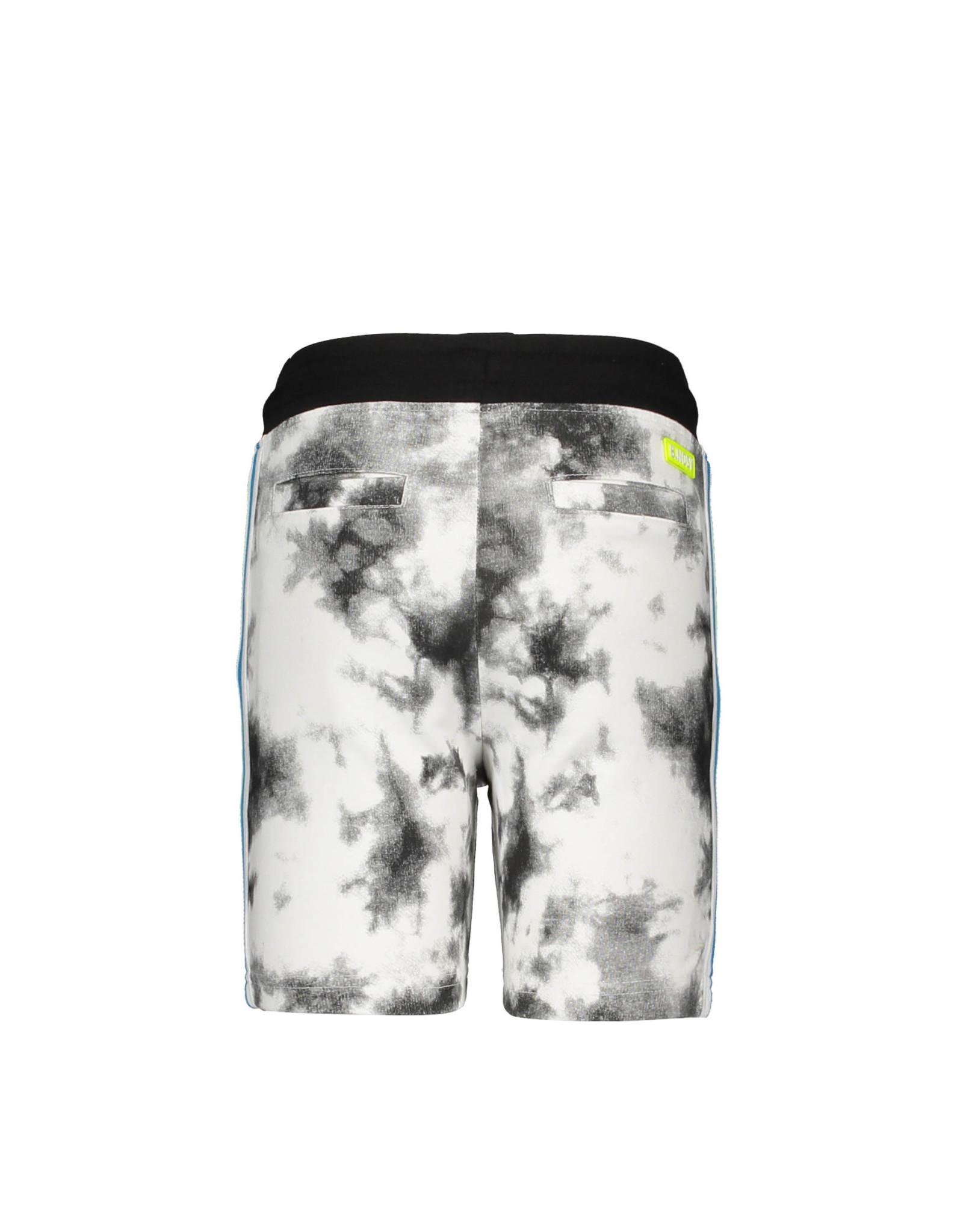 B.Nosy B.Nosy jongens korte joggingbroek Tie Dye Black