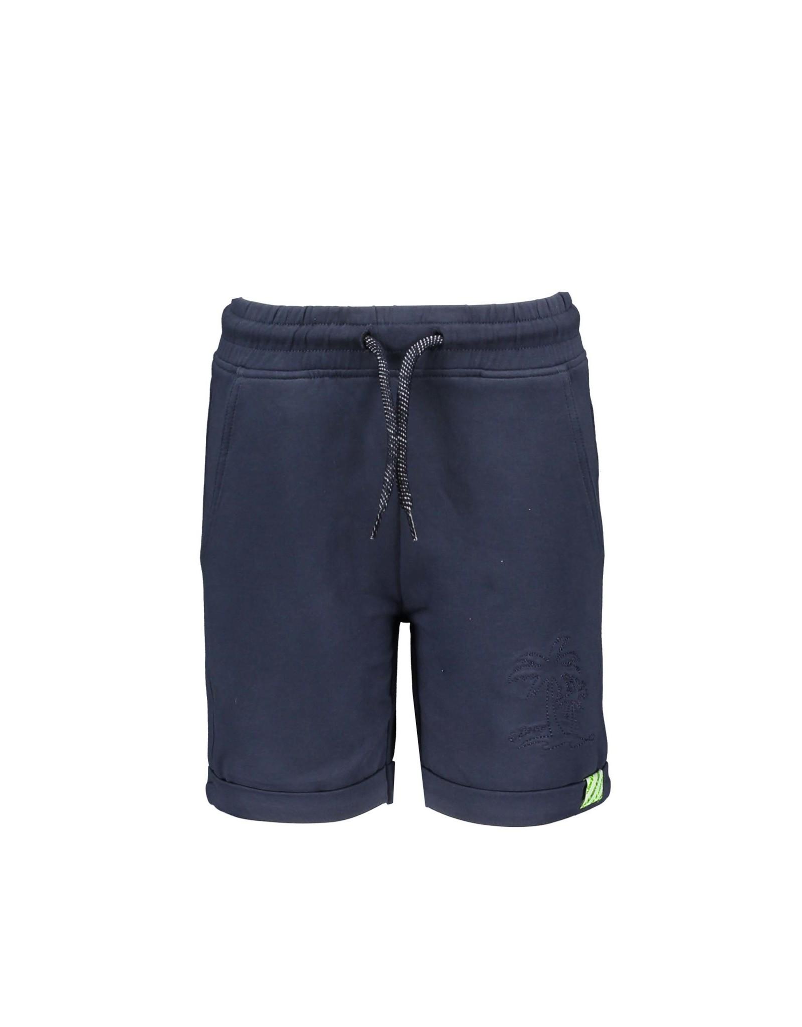 B.Nosy B.Nosy jongens korte joggingbroek Oxford Blue S21