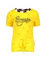 B.Nosy B.Nosy baby meisjes t-shirt Cheer Banana Yellow