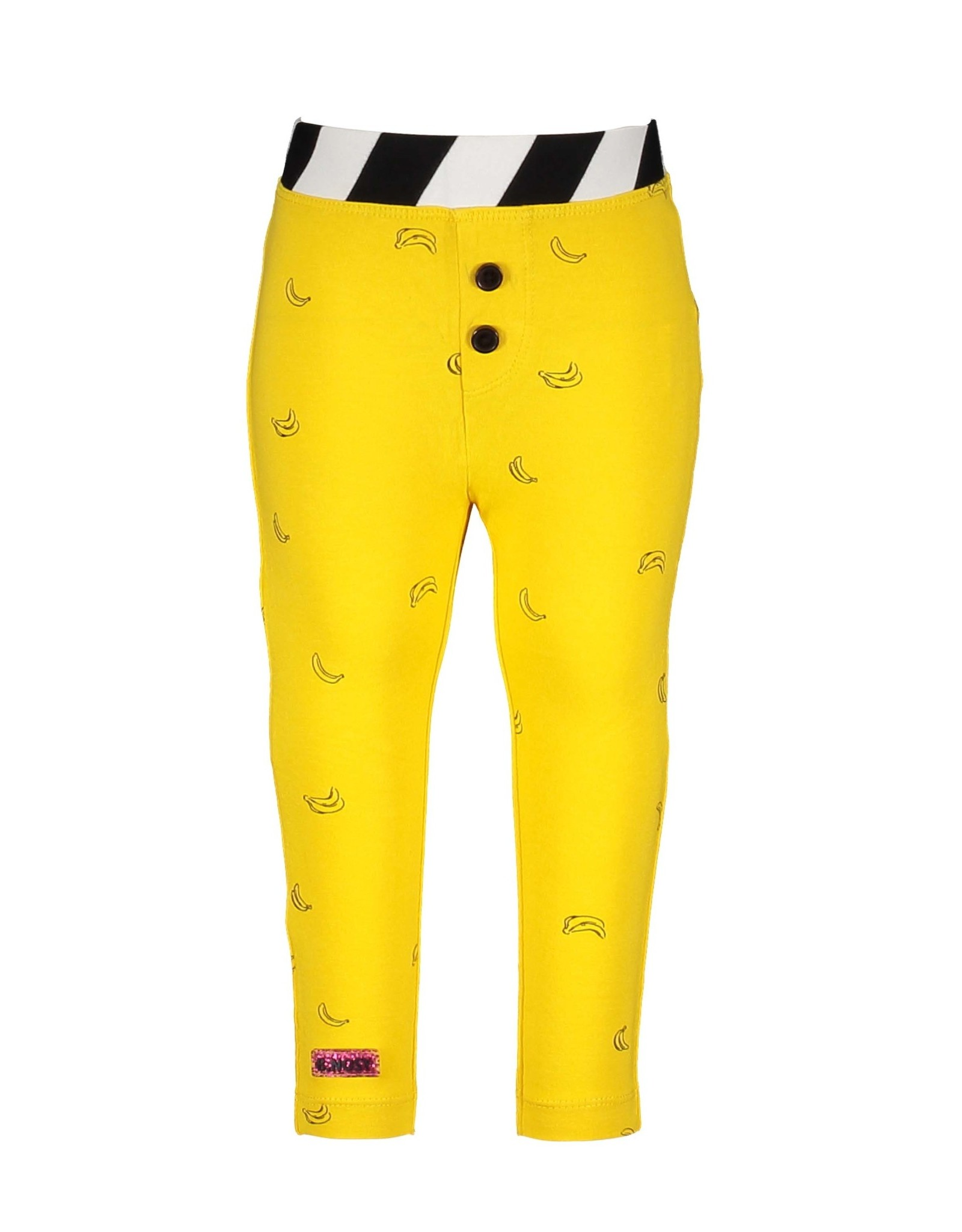 B.Nosy B.Nosy baby meisjes legging Cheer Banana Yellow