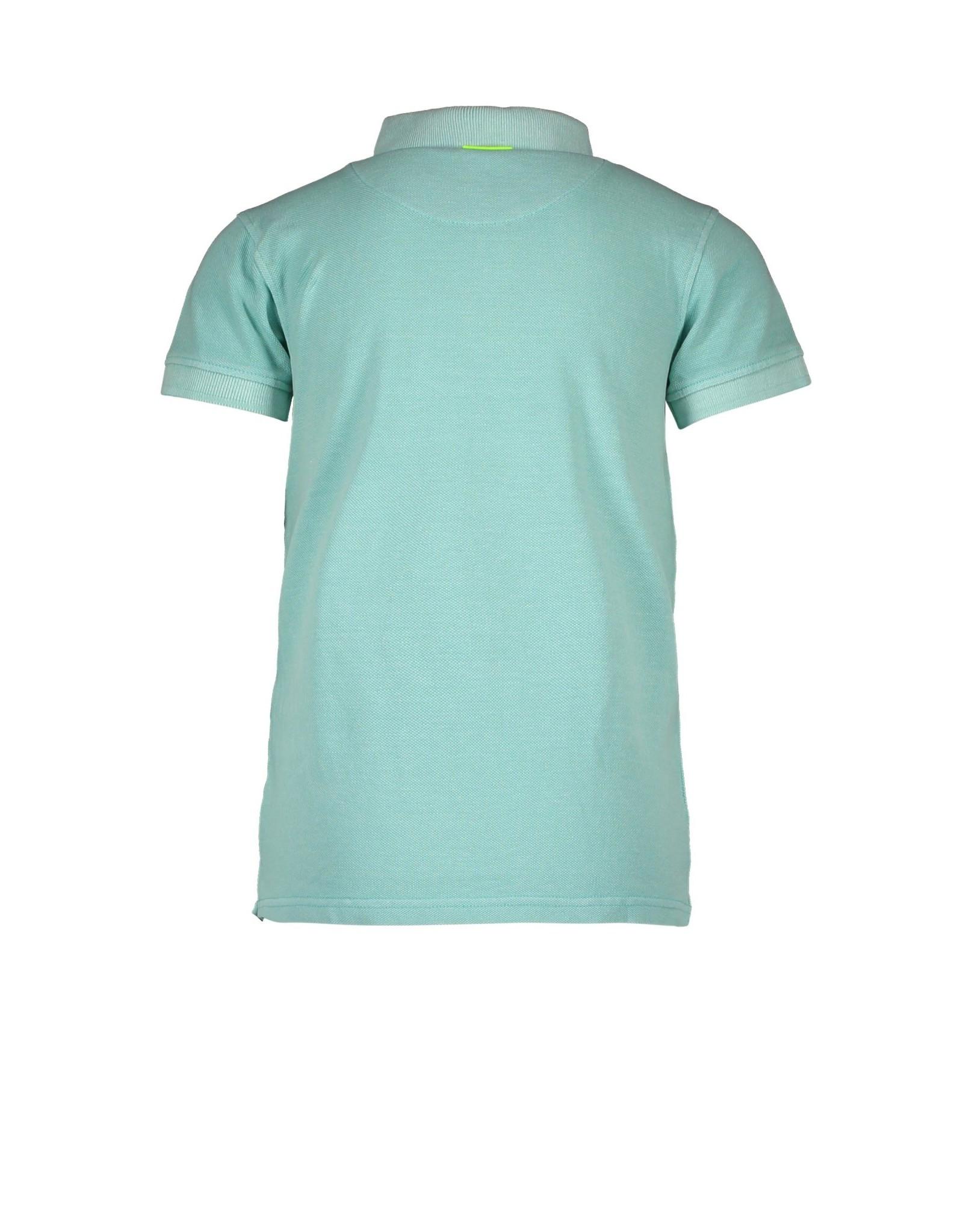 B.Nosy B.Nosy baby jongens polo t-shirt Surf Ice Green