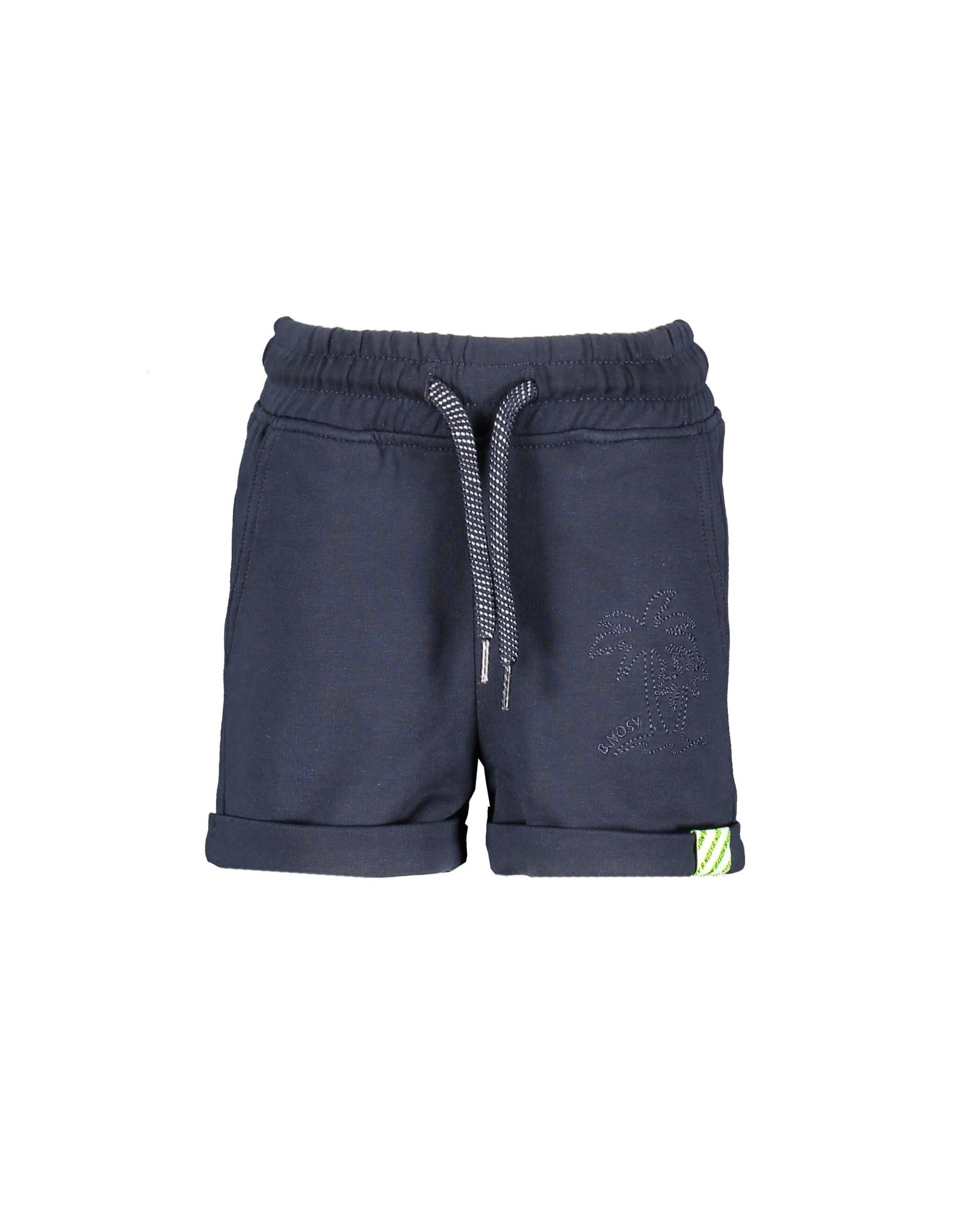 B.Nosy B.Nosy baby jongens korte joggingbroek Oxford Blue S21