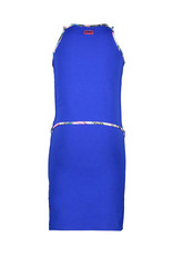 B.Nosy B.Nosy meisjes jurk Peacock Cobalt Blue