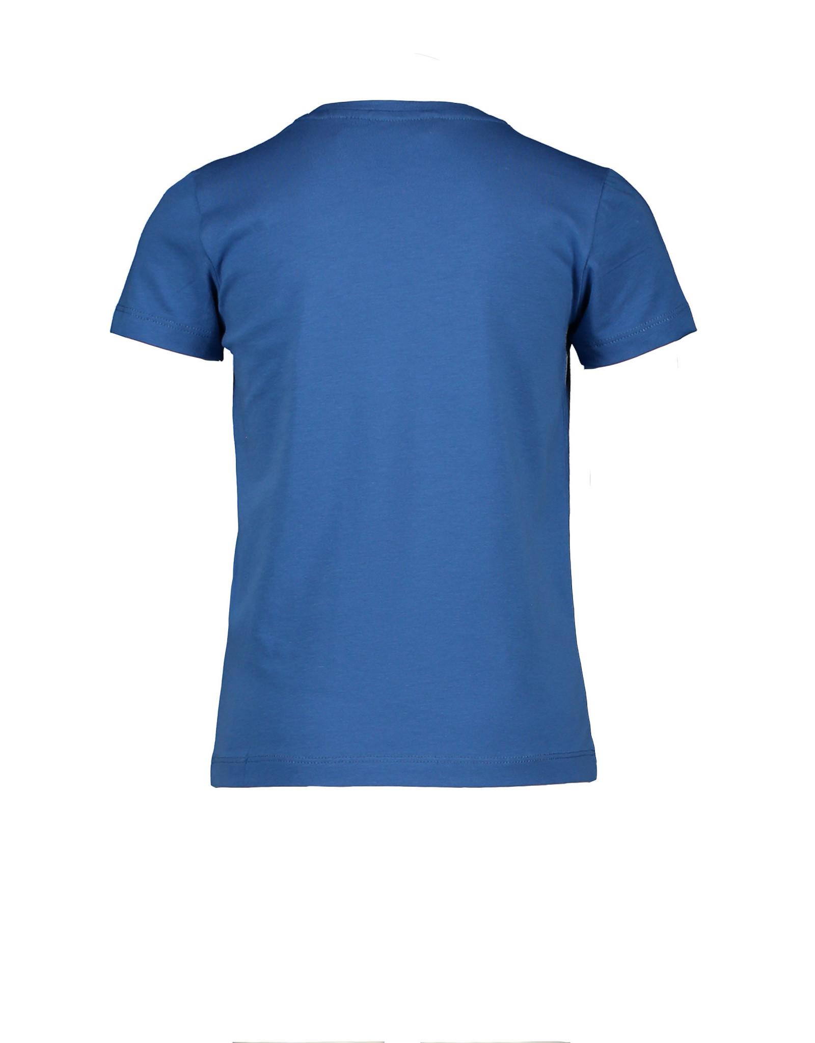 Moodstreet Moodstreet meisjes t-shirt Simply Blue Chestprint
