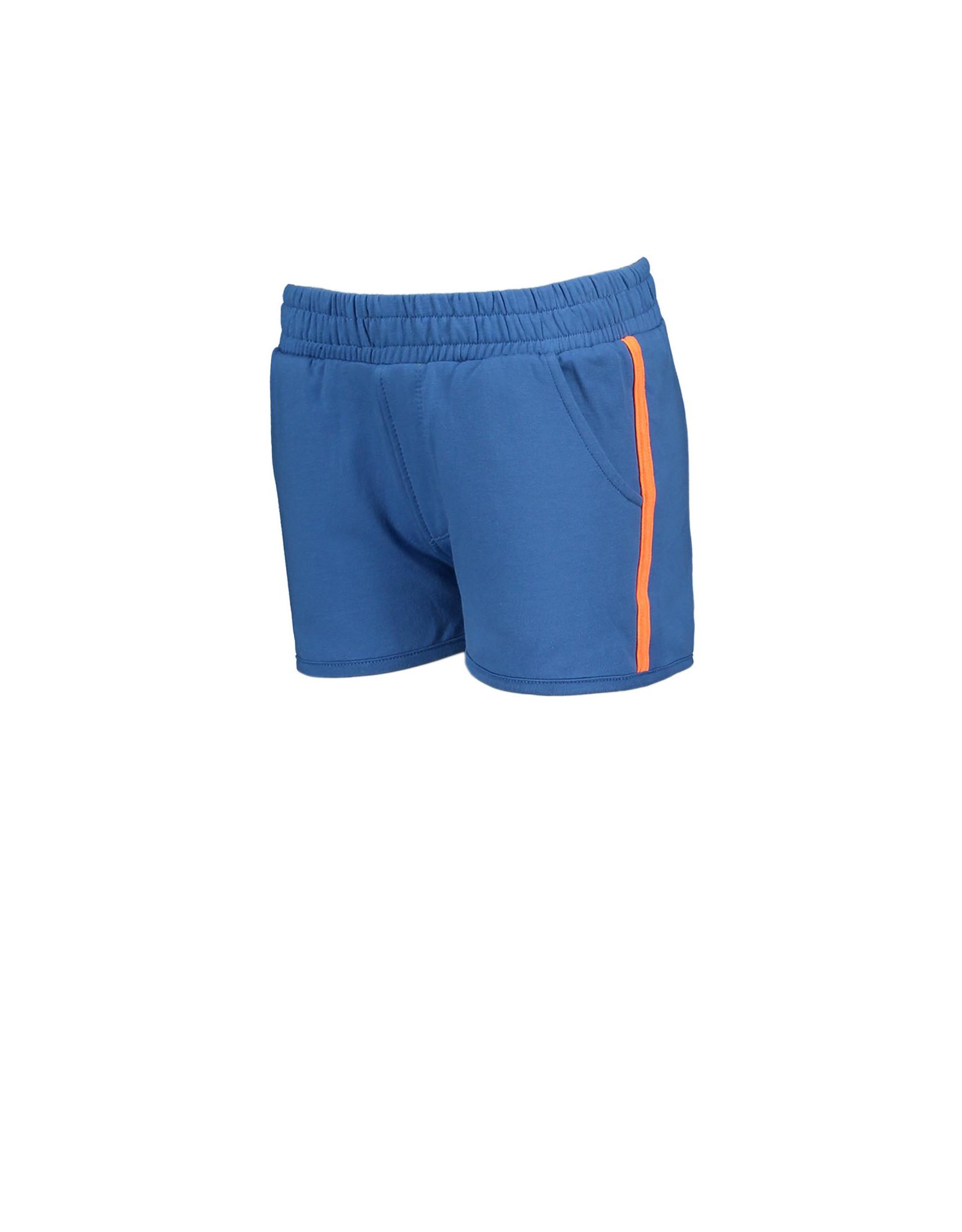 Moodstreet Moodstreet meisjes korte sweat joggingbroek Simply Blue