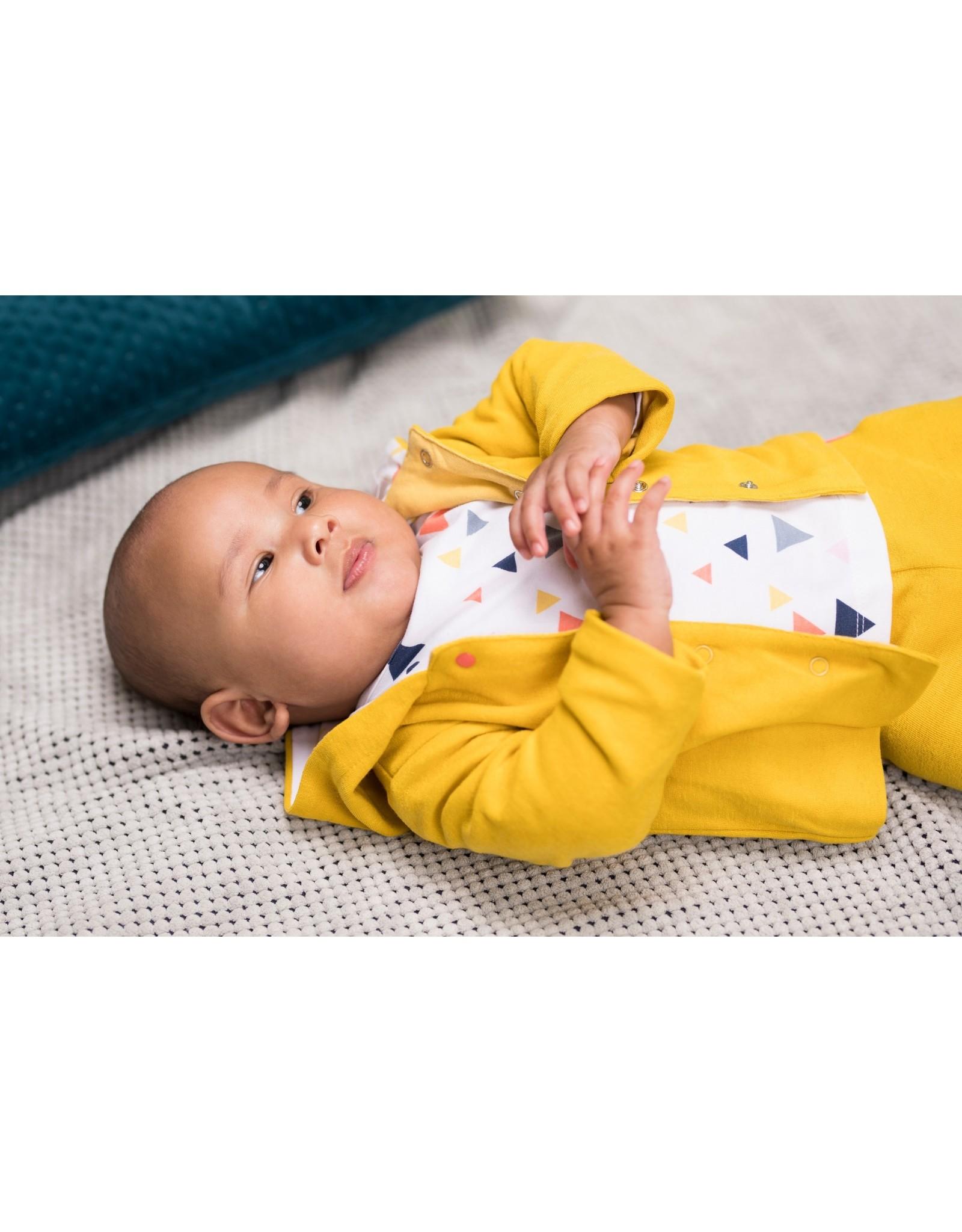 Bampidano Bampidano newborn neutraal vest Dani Yellow