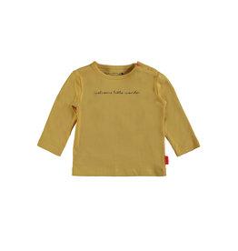 Bampidano Bampidano newborn shirt Dion Yellow