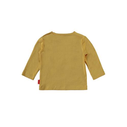 Bampidano Bampidano newborn neutraal shirt Dion Yellow