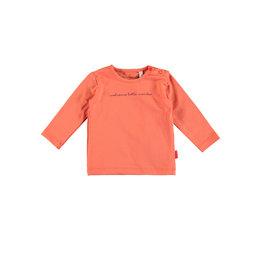 Bampidano Bampidano newborn shirt Dion Coral