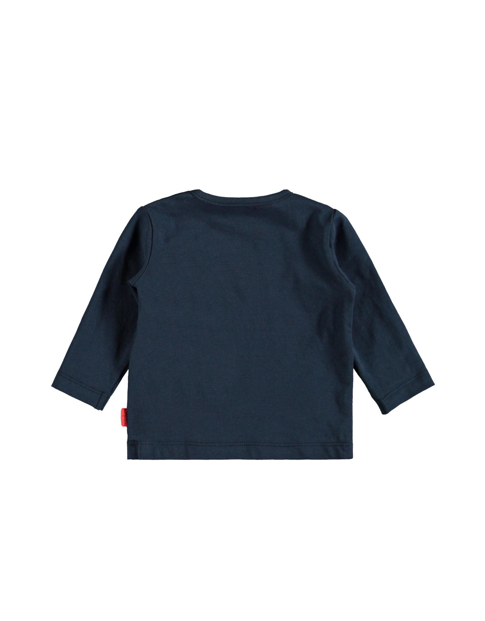 Bampidano Bampidano newborn shirt Dion Indigo