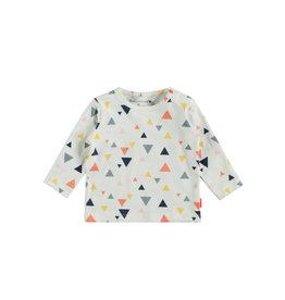 Bampidano Bampidano newborn shirt Danique White Allover