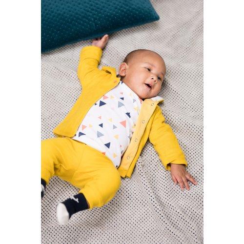 Bampidano Bampidano newborn neutraal joggingbroek Deniz Yellow