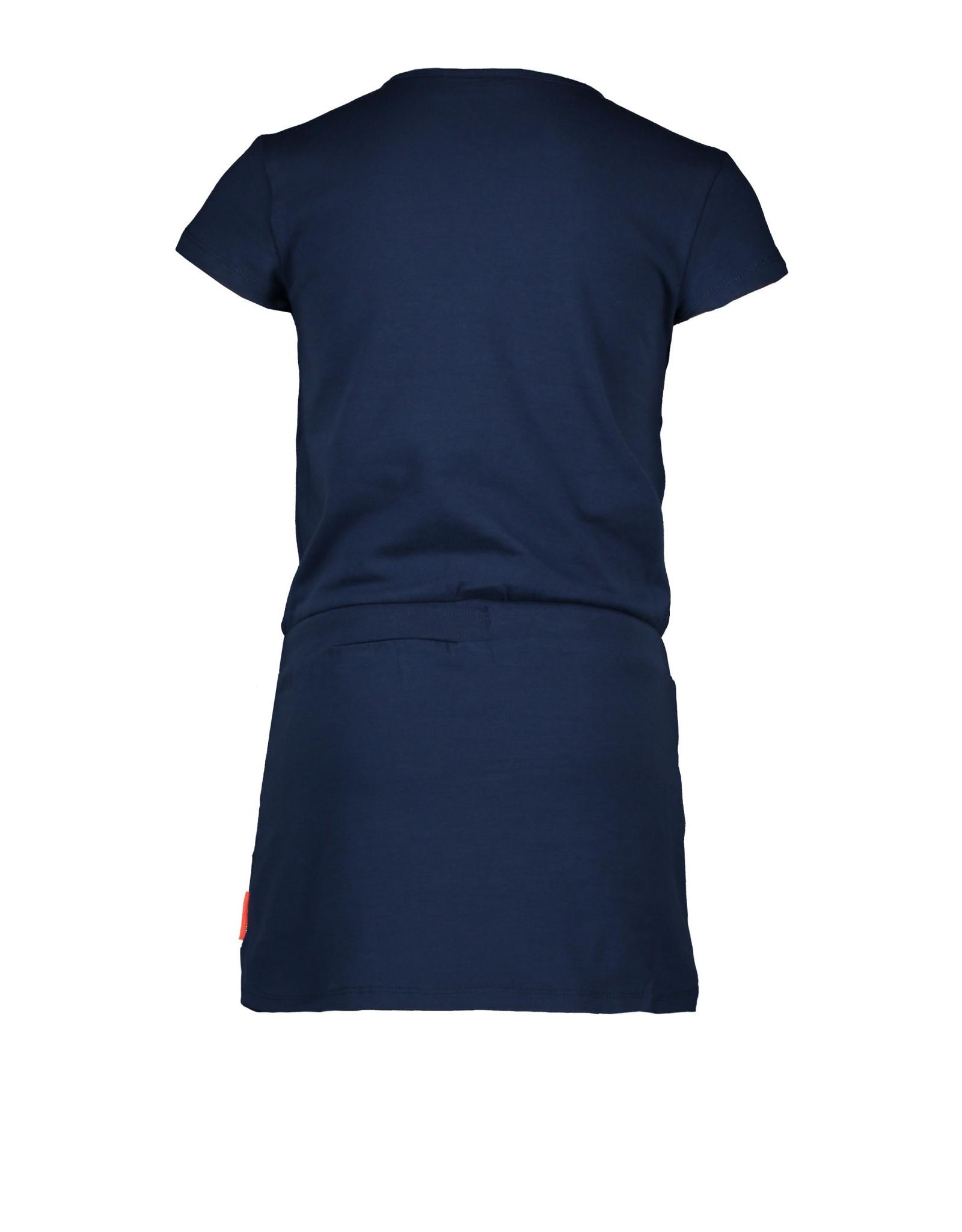 Bampidano Bampidano meisjes jurk Dunja Indigo
