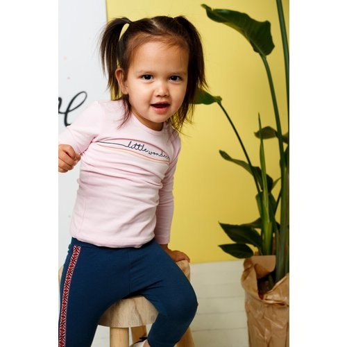 Bampidano Bampidano baby meisjes joggingbroek Dorien Indigo