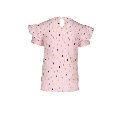 Bampidano Bampidano baby meisjest-shirt Doortje Light Pink