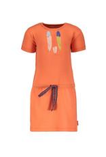 Bampidano Bampidano baby meisjes jurk Dunja Coral