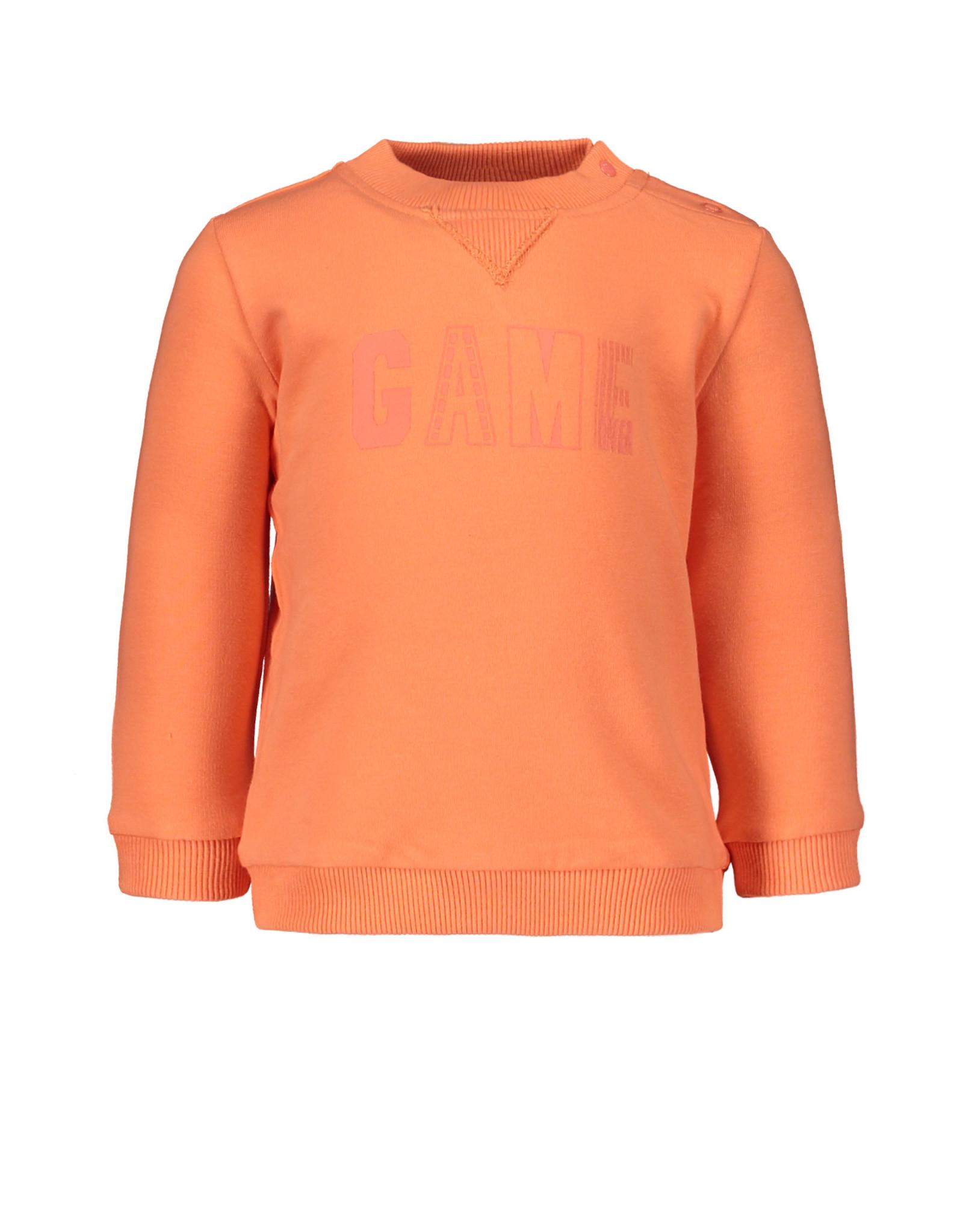 Bampidano Bampidano baby jongens sweater Dyan Coral
