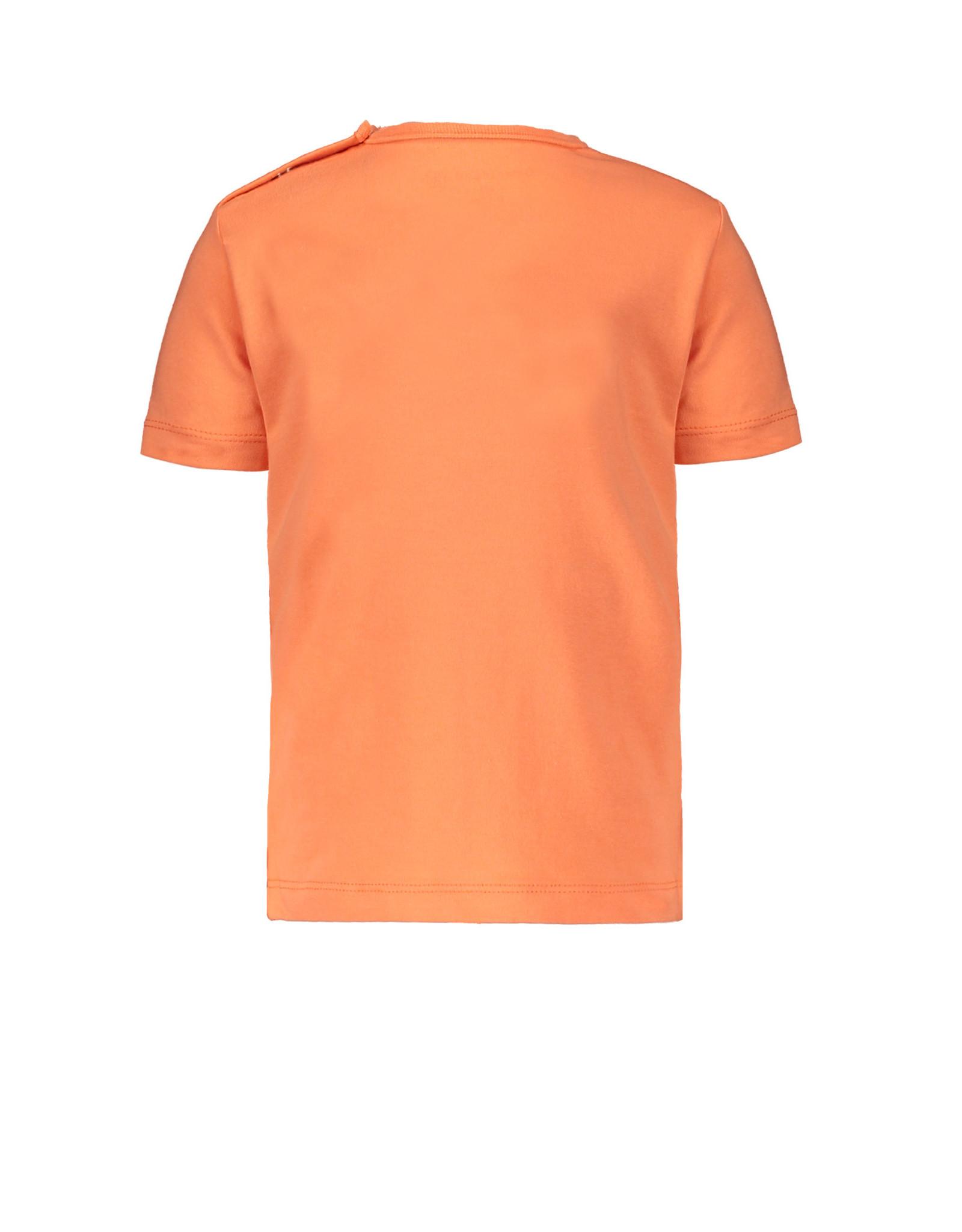 Bampidano Bampidano baby jongens t-shirt Dex Coral