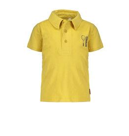 Bampidano Bampidano baby jongens polo t-shirt Dax Yellow