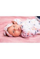 Bampidano Bampidano newborn meisjes jurk Dina White Allover