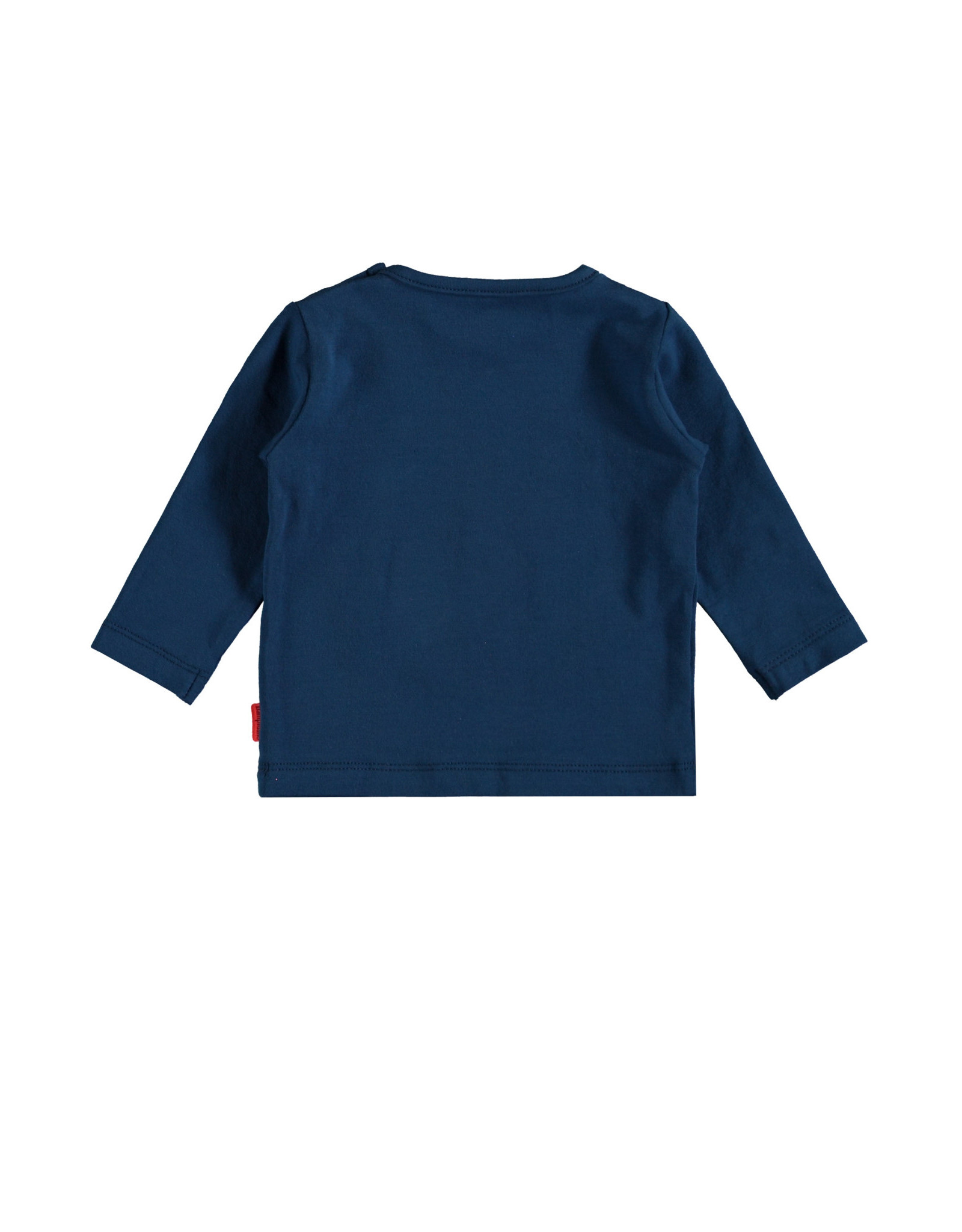 Bampidano Bampidano newborn jongens shirt Eef Blue