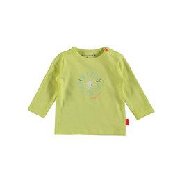 Bampidano Bampidano newborn shirt Eef Lime