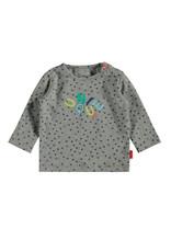 Bampidano Bampidano newborn jongens shirt Eli Grey Melee