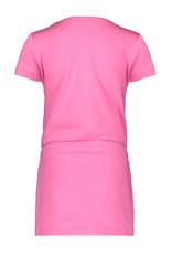 Bampidano Bampidano meisjes jurk Emmy Neon Pink