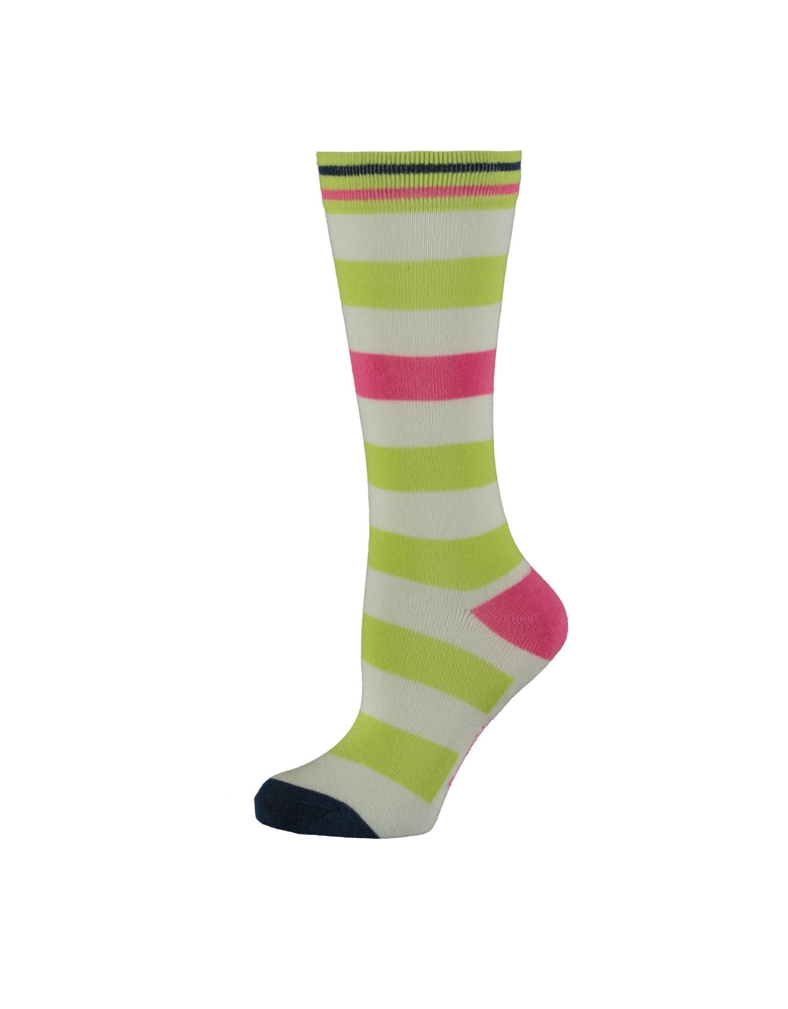 Bampidano Bampidano meisjes sokken Elli Lime