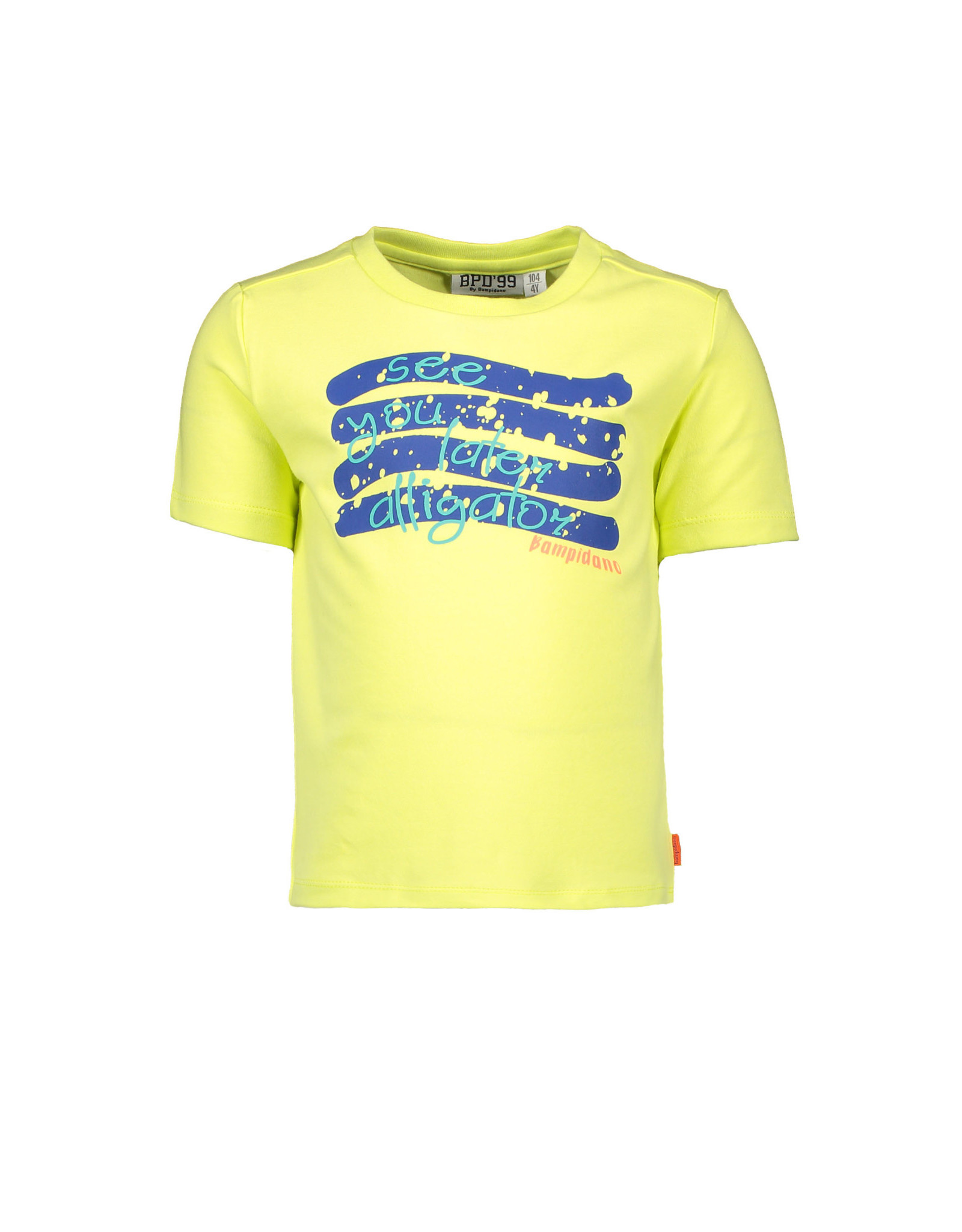 Bampidano Bampidano jongens t-shirt Enzo Lime