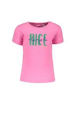 Bampidano Bampidano baby meisjes t-shirt Ella Neon Pink
