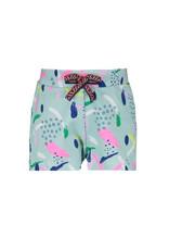 Bampidano Bampidano baby meisjes korte broek Evie Blue Allover