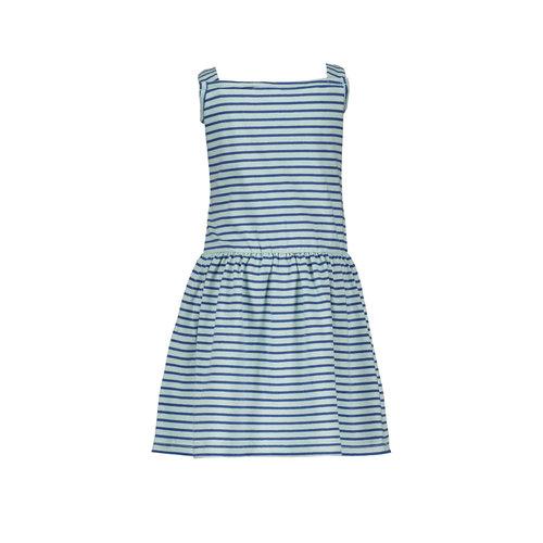 Bampidano Bampidano baby meisjes jurk Elle Blue Stripe